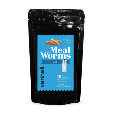 Mealworms Salted